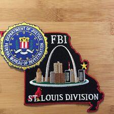 FBI - St Louis Field Office- SecondGEN - full color - Genuine *Kokopelli Patch*