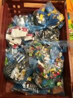 GENUINE LEGO ASSORTED BRICKS AND COLOURS 250G 1/4KG BAG GOOD CONDITION