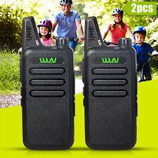 2PCS Newest MINI-handheld walkie talkie WLN UHF400-470 MHz  2-way Amature Radio