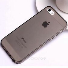 Thin Clear Soft Gel Silicone Crystal Case Cover Protector For Apple iPhone 5 5S