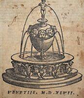 DIRITTO INQUISIZIONE 1547 Maranta: SPECULUM AUREUM et LUMEN ADVOCATORUM Processi