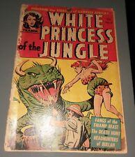 White Princess Of The Jungle #4 golden age 1952 Avon Publications girl comics