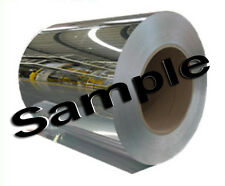 Crystal Clear Flexible Mirror on a Roll. Like a real mirror. Sample Sheet.