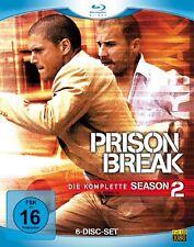 PRISON BREAK, Season 2 (6 Blu-ray Discs) NEU+OVP