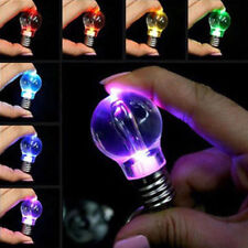 Mini Fashion LED Flashlight Light Bulb Lamp Key Ring Keychain Lamp Torch