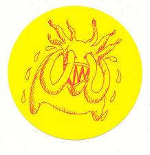 Radiohead Amnesiac RARE promo sticker '01