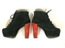 Jeffrey Campbell Lita men matt black distressed echtleder 44 übergrösse