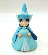 Disney Sleeping Beauty Fairy Merryweather Ceramic Porcelain Figure Toy Decorate