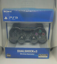 Manette Sony ps3 DualShock 3 sans Fil Sixaxis pour PlayStation 3 Noir Neuf!