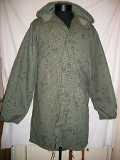 Parka Night Desert Camouflage Medium with Liner Dated 1983 Excellent Condition!