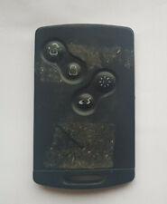 Genuine Renault Remote Key Fob 4 Button Key Card