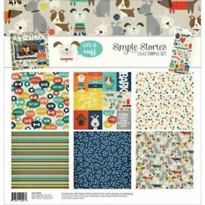 Simple Stories Life is Ruff Dog - 12 x 12 Paper Collection 9276