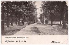 Canton Ohio Avenue at Myers Lake Antique Postcard 1906