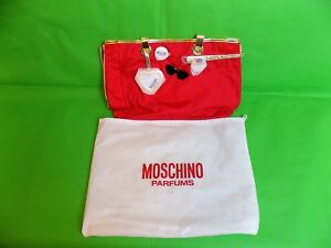 Moschino Parfums Bay Red Bag
