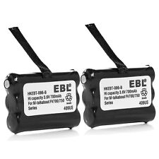 2x Ni-MH 3.6V 700mAh Battery For Motorola 2-Way Radios KEBT-086-B 3XCAAA 53617