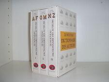 Le nouveau dictionnaire des auteurs collection bouquins Robert Laffont