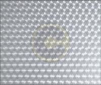 rotolo cm 45x2,5 mt di plastica adesiva trasparente opaco velluto autoadesivo