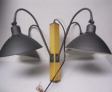New 4 Light Chandelier Hanging light fixture Genlyte co. Vintage Grey Wood