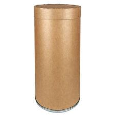 Zoro Select Fdclb87 87 Gal Round Fiber Recycling Bin , Brown