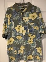 Men's Vintage Tommy Bahama Large 3 Button Short Sleeve Polo Shirt