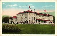 Vintage Postcard - 1922 Fort W.M. Henry Hotel Lake George New York NY #4261