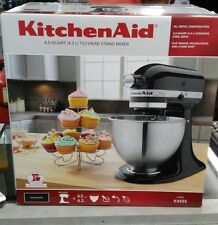 NEW in Box KitchenAid Classic Series Tilt Head 4.5 Quart Mixer K45SS Onyx Black