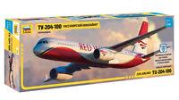 1:144 ZVEZDA #7023 - Civil Airliner Tupolev TU-204-100 'RED WINGS' - Neuheit !