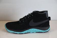 Nike Lunar Braata Mid OMS Black Anthracite Turquoise 536526-030 7
