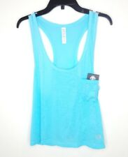 Under Armour Women's Large Blue Heat Gear Victory Fitted Tank NWT $35