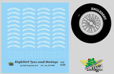 [FFSMC Productions] 1/32 Decals Englebert markings for tyres (small size)
