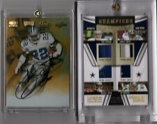 2009 NT Champions Materials GU Patch 1/1 Emmitt Smith, Troy Aikman, Irvin, Jay N