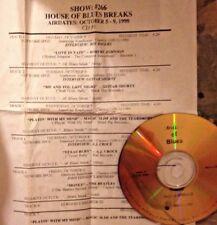 Radio Show:BLUES BREAKS 10/5/98 JOHN LENNON'S BIRTHDAY, ROBERT JOHNSON, AJ CROCE