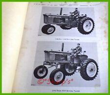 John Deere 2510 Parts Catalog Pc957 Genuine Original 1965 Versiondealership