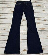 Silver Jeans Co Women's Mazy Flare Jeans Dark Wash Size 27 Inseam 34