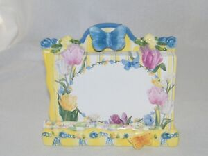 Lady Jayne LTD. Butterfly Tulip Pad Stand / Holder & Pen Set . See Details