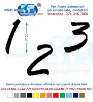 Numeri Adesivi auto/moto racing stickers numero adesivo RageItalic
