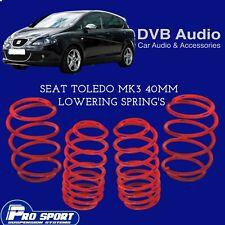Prosport 30 mm Lowering springs pour Seat Leon Mk2 concessionnaire agréé 120864