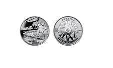 """10 HRYVEN 2018 /""""CYBORGS/"""" x 10 ROLLS = 250 pcs Ukraine coins UNC - Wholesale"""