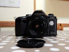 Fotocamera YASHICA 108 MULTIPROGRAMM con obiettivo  VIVITAR  mc 28mm f 1:2,8