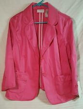 Liz Claiborne pink dress jacket.   Size 10.   New with tags.