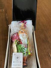 Christopher Radko Blown Glass Holiday Ornament - 1997 Little Golden Hood w/box