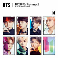 BTS JAPAN FAKE LOVE/Airplane pt.2 CD FanClub FC ver. changing jacket
