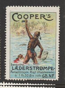 Danish Poster Stamp Clothing Native Americans