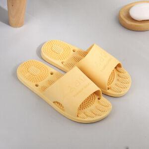 Summer Indoor Massager Slippers Women Men Non-Slip Home Bathroom Sandals Shoes