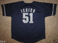 Ichiro Suzuki #51 Seattle Mariners Jersey Youth M 10-12 Medium