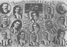 NEWCASTLE UNITED FOOTBALL TEAM PHOTO>1910-11 SEASON