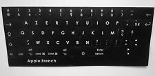 "Stickers clavier Azerty Macbook Air 11 et 13 macbook 13"", 15"" 17"" Rétina 13 15"""