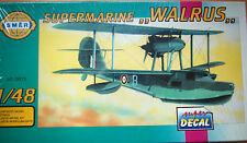 "MAQUETA 1/48 KIT AVION  SUPERMARINE  "" WALRUS "" OFERTA 4X3"