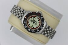 NEW Tag Heuer WA1411.BA0495 Formula One F1 Watch Women's Red Cream Black SS NOS