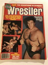 1980 The Wrestler BRUNO SAMMARTINO Nick BOCKWINKEL Bob BACKLUND Harley RACE
